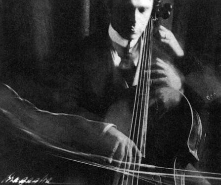005 11_4 Antonio Giulio Bragaglia_ The Cellist_ 1913_ Gelatin Silver print