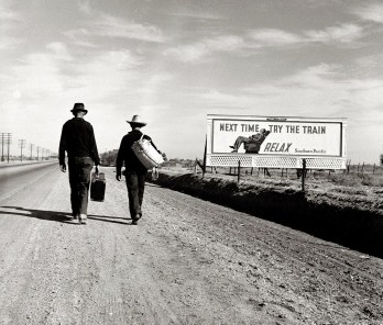 Dorothea Lange - Try the Train (1937)