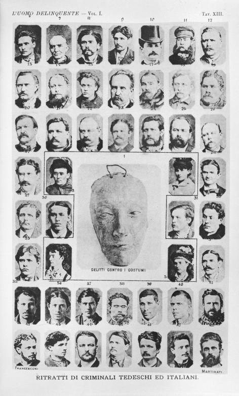 L0030261 Cesare Lombroso, l'Uomo Delinquente, 1889
